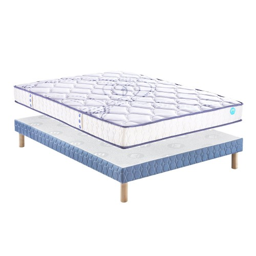 Ensemble Matelas latex Merinos SCOPIT Confort Ferme