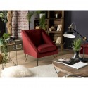 Fauteuil AGATHA Rouge